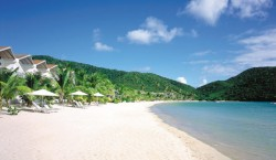 Carlisle Bay Beach 250x145 Looking for Luxury? Paradise in Antigua