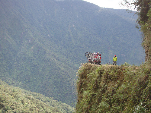 Death Road, Bolivia