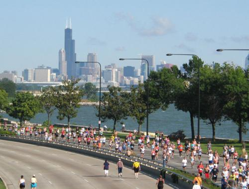 chicago half Travel Running