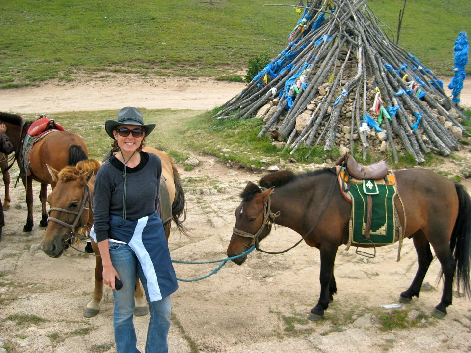 Me horse ovoo What They Don't Tell You About Horseback Riding in Mongolia