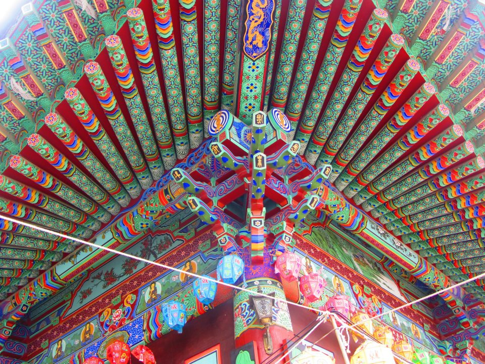 Temple in Yeonwgol, Gangwon-do, South Korea