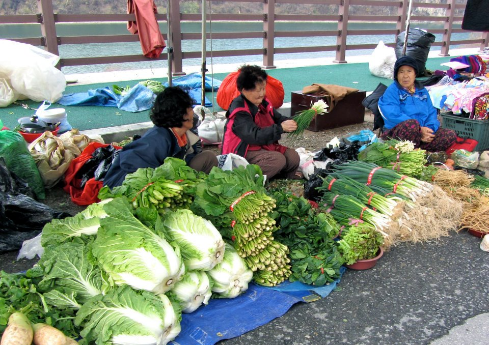 5-day market, Yeongwol, South Korea