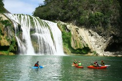 Kayaking in Mexico Rio Micos 250x166 4 Bachelor Party ideas for Las Vegas and Beyond