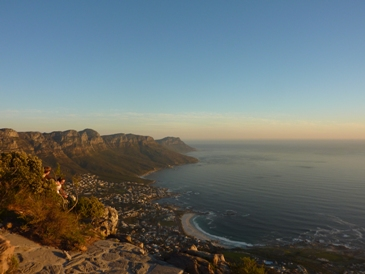 view from Lions Head Hiking with Lions: An Active Trip to Cape Town