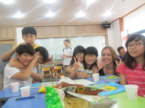 Classroom Why Teach English in Korea?