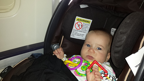 Airplane Travel With Twins 2