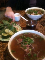 Bowl of Pho. Photo Credit: Flickr user Michael Pittman