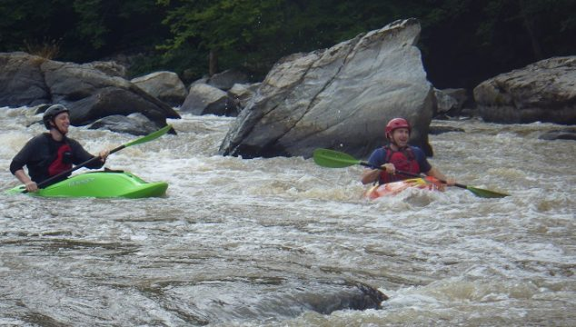 Whitewater Kayaking After 6 Years – a not so cautionary tale